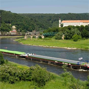 Přeprava generátorů na úseku Lovosice - Antwerpen