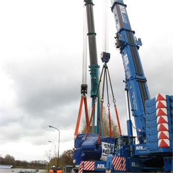Přeprava Chvaletice - Rotterdam 2x260t Silja a Silja 2