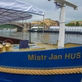 Loď Mistr Jan Hus - slavnostní křest