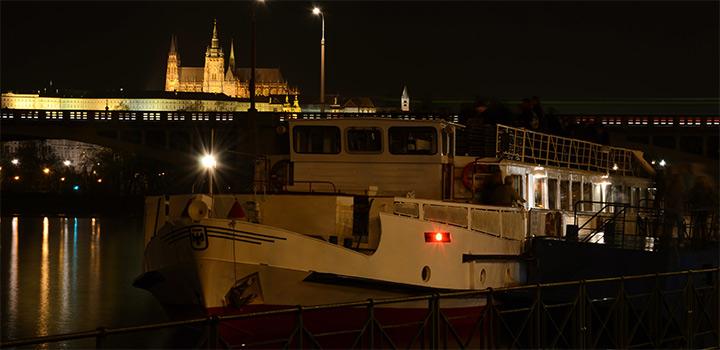 Silvestrovská plavba na lodi Cecílie